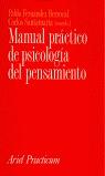 MANUAL PRÁCTICO DE PSICOLOGÍA DEL PENSAMIENTO