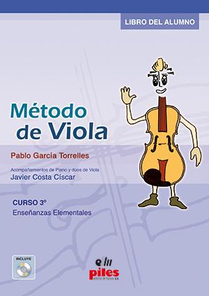 MÉTODO DE VIOLA CURSO 3 + CD