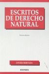 ESCRITOS DE DERECHO NATURAL