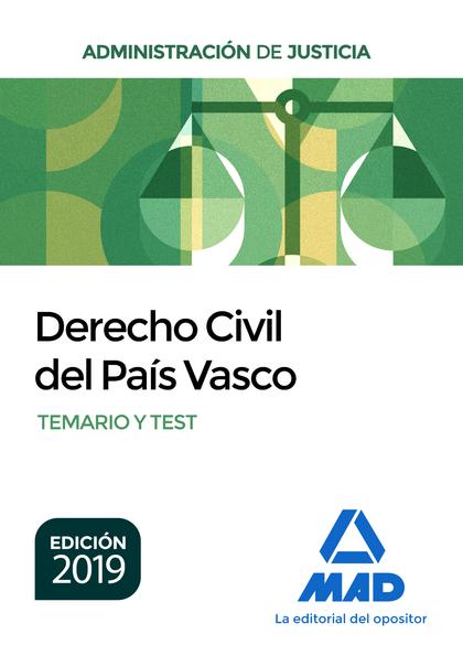 DERECHO CIVIL PAIS VASCO OPOSICIONES DE JUSTICIA