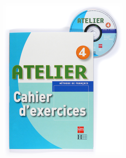 ATELIER 4 CAHIER D´EXERCICES +CD-ROM 08.