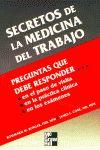 SECRETOS DE LA MEDICINA DEL TRABAJO