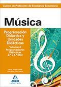 MUSICA PROGRAMACION DIDACTICA Y UNIDADES DIDACTICAS