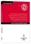 EL PRINCIPIO MAYORITARIO DE FUNCIONAMIENTO DE LA JUNTA GENERAL EN LA SOCIEDAD DE RESPONSABILIDA