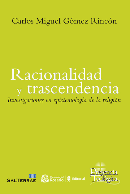 RACIONALIDAD Y TRASCENDENCIA                                                    INVESTIGACINE E