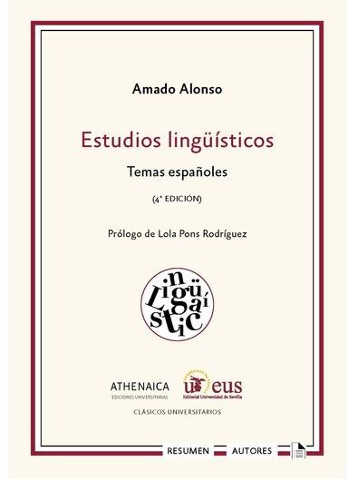 ESTUDIOS LINGUISTICOS.