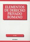 ELEMENTOS DE DERECHO PRIVADO ROMANO