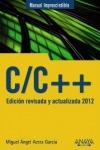 C-C++ : EDICIÓN REVISADA Y ACTUALIZADA 2012
