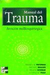 MANUAL DEL TRAUMA ATENCION MEDICOQUIRURGICA
