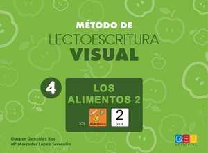 MÉTODO DE LECTOESCRITURA VISUAL 4. LOS ALIMENTOS 2.
