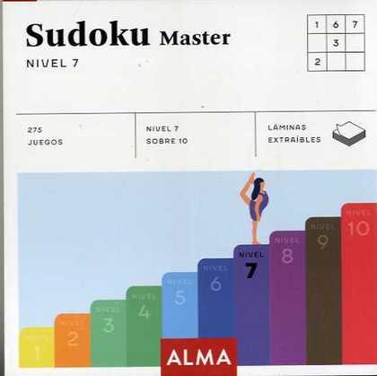 SUDOKU NIVEL 7 MASTER.