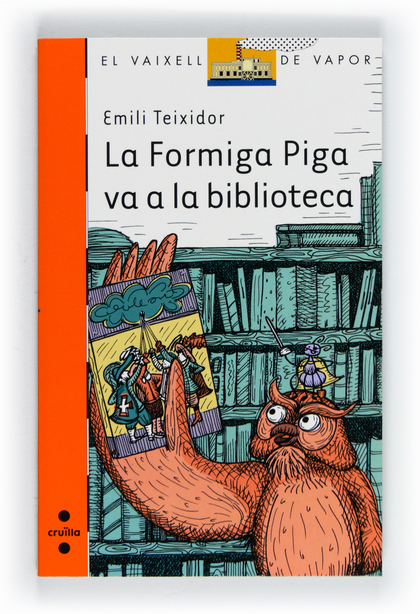 LA FORMIGA PIGA VA A LA BIBLIOTECA
