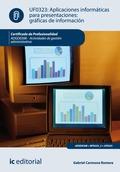 Aplicaciones informáticas para presentaciones: gráficas de información. ADGD0308