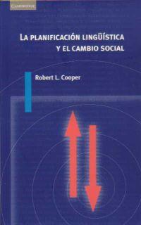 PLANIFICACION LINGUISTICA CAMBIO SOCIAL