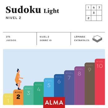 SUDOKU LIGHT. NIVEL 2 (CUADRADOS DE DIVERSIÓN).