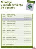 COMPONENTES INTERNOS : MONTAJE Y MANTENIMIENTO DE EQUIPOS