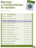 CONECTORES Y CABLEADO : MONTAJE Y MANTENIMIENTO DE EQUIPOS