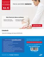 CELADOR SERGAS PACK AHORRO BASICO (TEMARIO + TEST + SIMULACROS + CURSO.