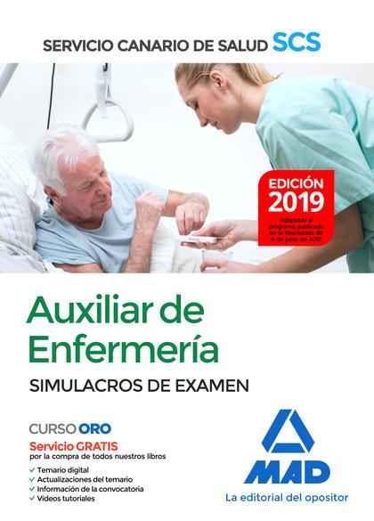 AUXILIAR DE ENFERMERÍA DEL SERVICIO CANARIO DE SALUD. SIMULACROS DE EXAMEN