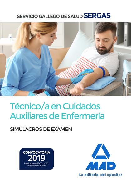 TÉCNICO;A EN CUIDADOS AUXILIARES DE ENFERMERÍA DEL SERVICIO GALLEGO DE SALUD. SI