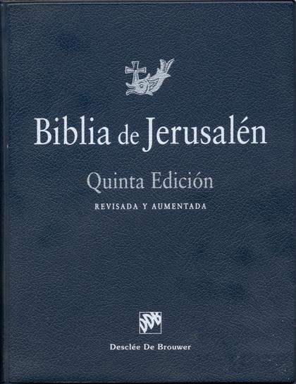 BIBLIA JERUSALEN MANUAL 0.