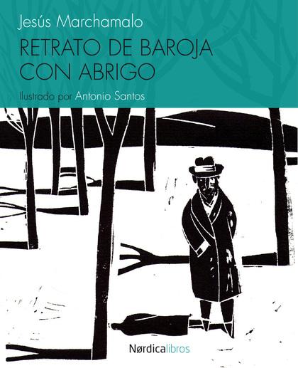 RETRATO DE BAROJA CON ABRIGO.