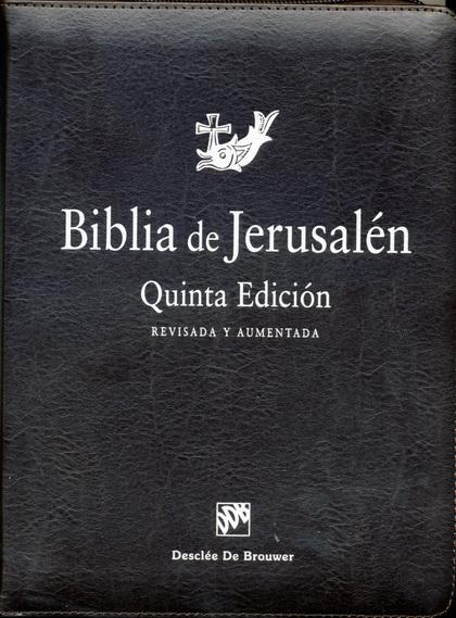 BIBLIA JERUSALEN MANUAL CREMALLERA.