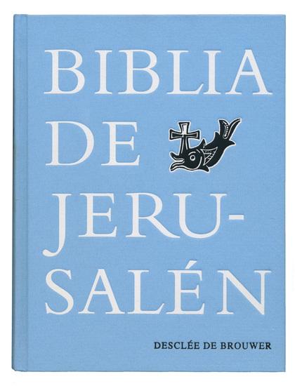 BIBLIA JERUSALEN MANUAL TELA VINTAGE.