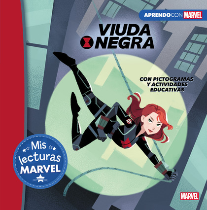 VIUDA NEGRA (MIS LECTURAS MARVEL). CON PICTOGRAMAS Y ACTIVIDADES EDUCATIVAS