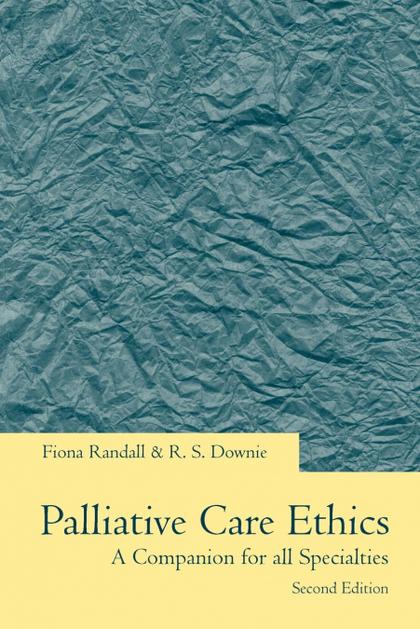 PALLIATIVE CARE ETHICS