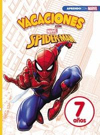 VACACIONES CON SPIDER-MAN (LIBRO EDUCATIVO MARVEL CON ACTIVIDADES). 7 AÑOS