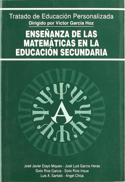 ENSEÑANZA MATEMATICAS EDUCACION SECUNDARIA