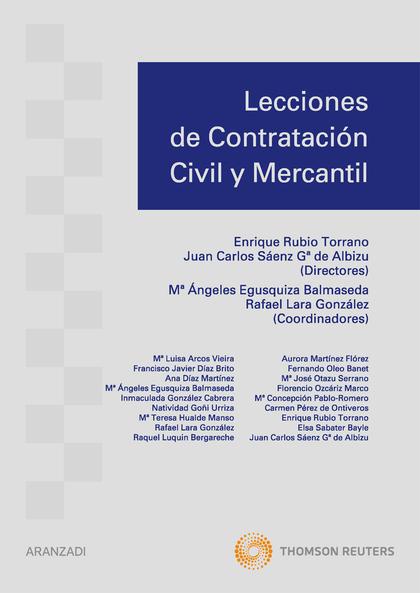 LECCIONES DE CONTRATACIÓN CIVIL Y MERCANTIL