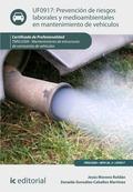 Prevención de riesgos laborales y medioambientales en mantenimiento de vehículos. TMVL0309