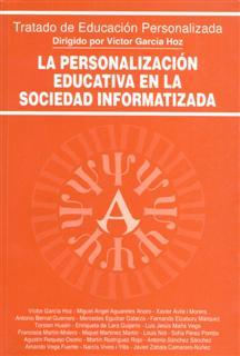 PERSONALIZACION EDUCATIVA SOCIEDAD INFORMATIZADA
