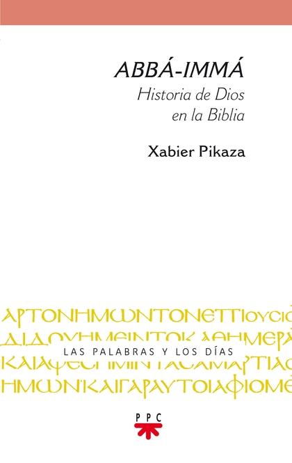 PYD.1 ABBA-IMMA. HISTORIA DE DIOS EN LA BIBLIA