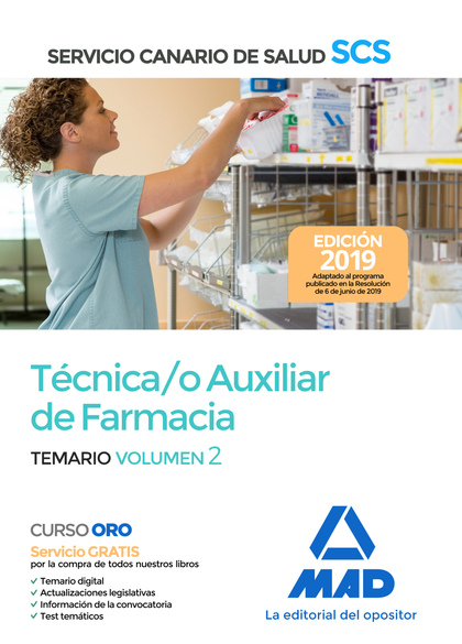 TECNICO AUXILIAR FARMACIA T.2