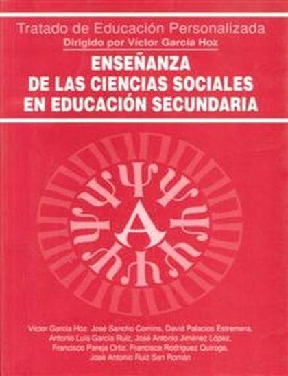 ENSEÑANZA CIENCIAS SOCIALES EDUCACION SECUNDARIA