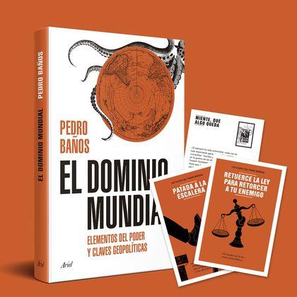 PACK TC EL DOMINIO MUNDIAL + POSTALES 12 ESTRATEGIAS.