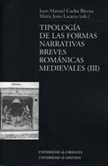 TIPOLOGÍA DE LAS FORMAS NARRATIVAS BREVES ROMÁNICAS MEDIEVALES (III)