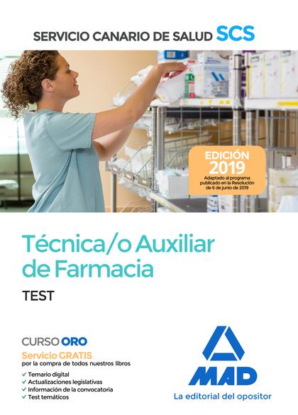 TECNICO AUXILIAR FARMACIA TEST