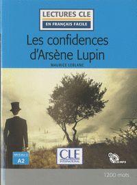 LES CONFIDENCIAS D´ARSÈNE LUPIN - NIVEAU 2;A2 - LIVRE + CD