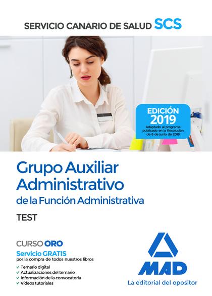 TEST 2019 AUXILIAR ADMINISTRATIVO DEL SERVICIO CANARIO SALUD