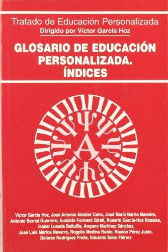GLOSARIO EDUCACION PERSONALIZADA INDICES
