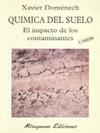 QUIMICA SUELO IMPACTO CONTAMINANTES