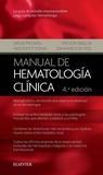 MANUAL DE HEMATOLOGÍA CLÍNICA (4ª ED.).