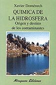 QUÍMICA DE LA HIDROSFERA: ORIGEN Y DESTINO DE LOS CONTAMINANTES