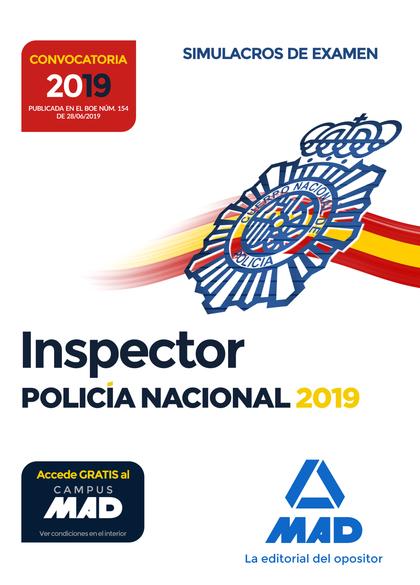 INSPECTOR DE POLICÍA NACIONAL. SIMULACROS DE EXAMEN.