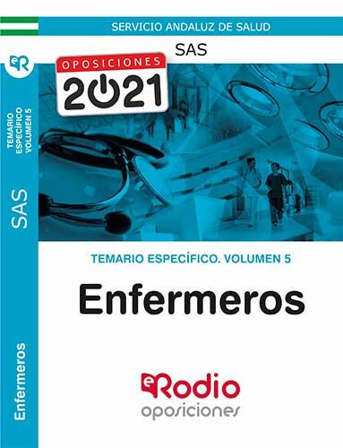 TEMARIO ESPECÍFICO VOLUMEN 5. ENFERMERO/A DEL SAS.