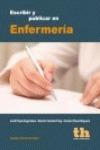 ESCRIBIR Y PUBLICAR EN ENFERMERÍA